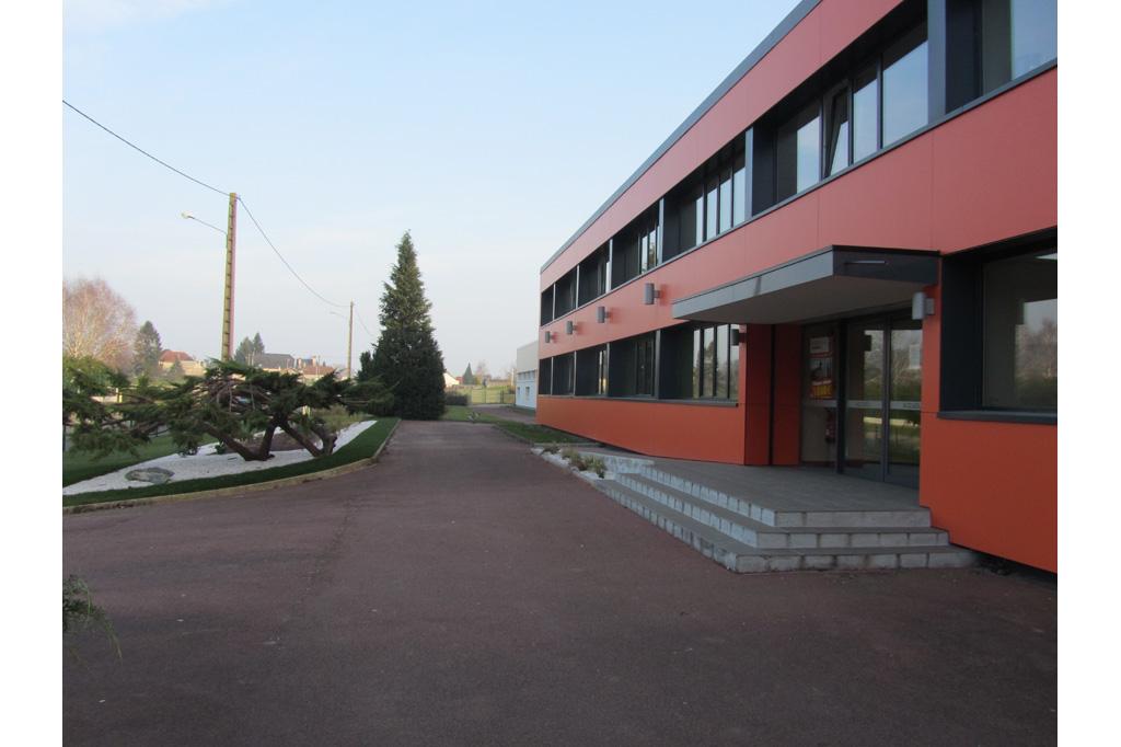 entrée vue de coté BIPA usine unité de production