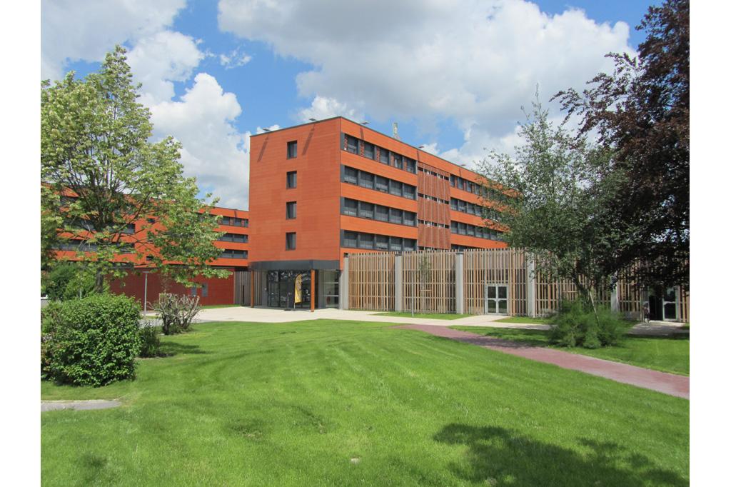 entrée exterirur Résidence Universitaire Teilhard de Chardin à Reims