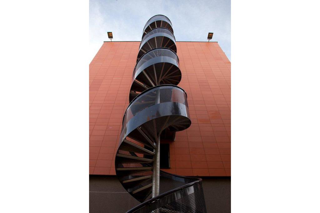details escalier Résidence Universitaire Teilhard de Chardin à Reims