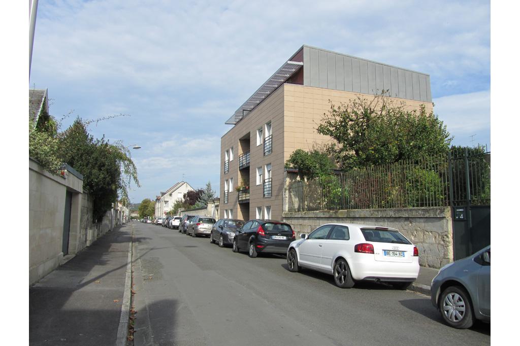 vue de la rue logements collectifs locatifs sociaux