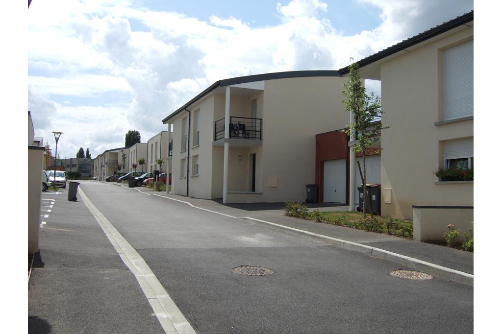sous l'arche logements locatifs sociaux avenue de Reims à Soissons