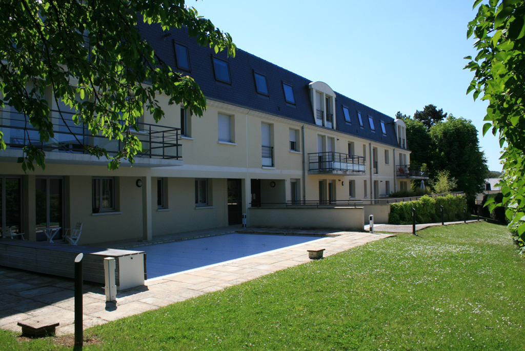 coté jardin logements collectifs à Soissons